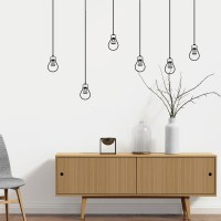 Light Bulbs Wall Decal Image 0