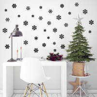 Mini Snowflakes Wall Decal Image 2