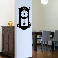 Pendulum Clock Wall Decal Image 0