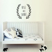 Rise and Shine Wall Decal Image 1