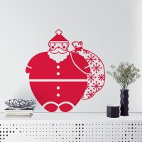 Santa Wall Decal Image 0