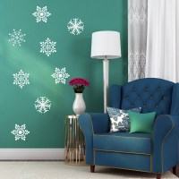 Snowflakes Wall decal Image 0