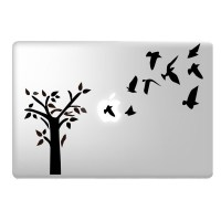 Tree Laptop Decal Image 1