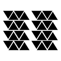 Triangles Wall Decal Image 3