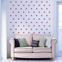 Triangles Wall Decal Image 2