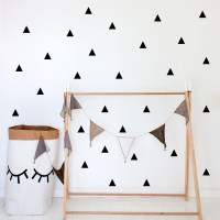 Triangles Wall Decal Image 0
