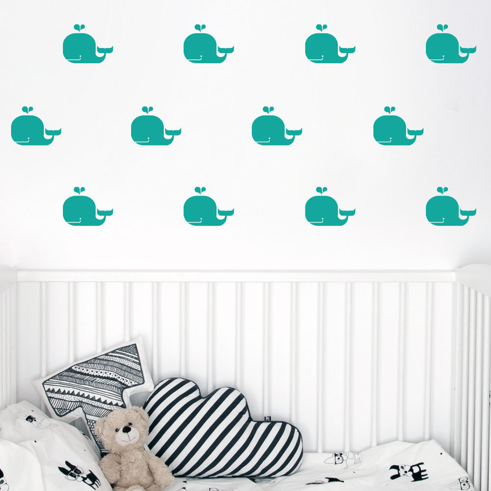 Whales Wall Decal