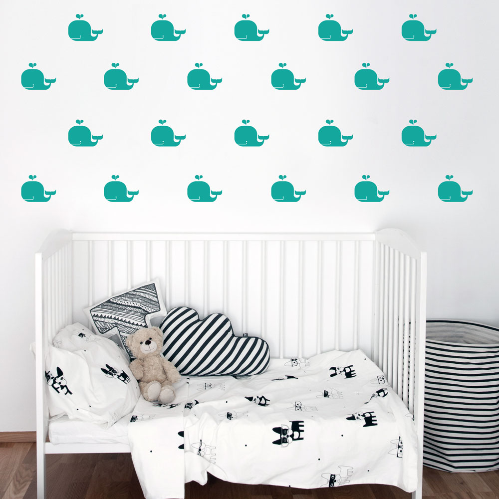 Whales wall decal kids wall decals whales wall decal image 1 amipublicfo Gallery