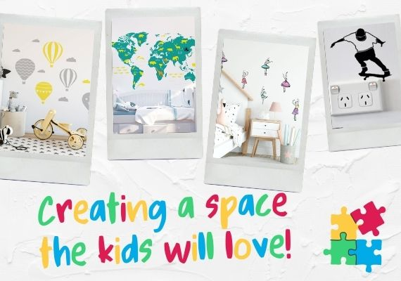 Vinyl Designs wall decals for kids rooms
