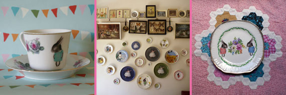 Vintage-Illustrated-Plates