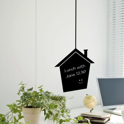 Chalkboard House Wall Decal