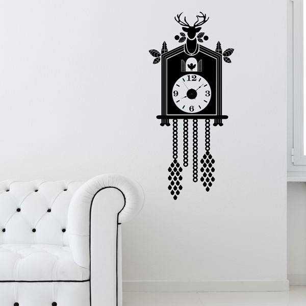 Cuckoo Clock Wall Decal
