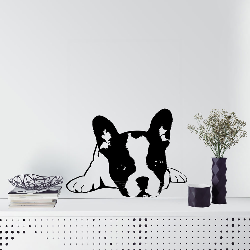French Bulldog Wall Decal