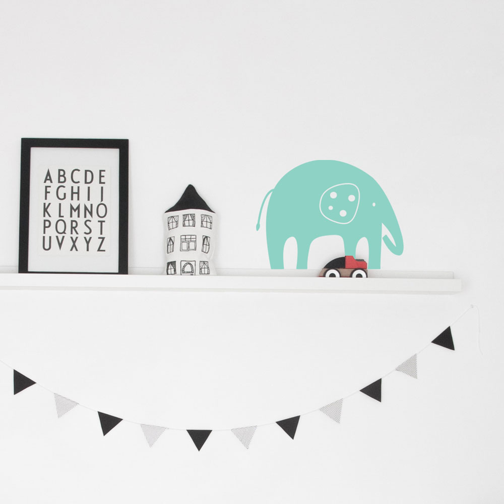 Mr Elephant Wall Decal