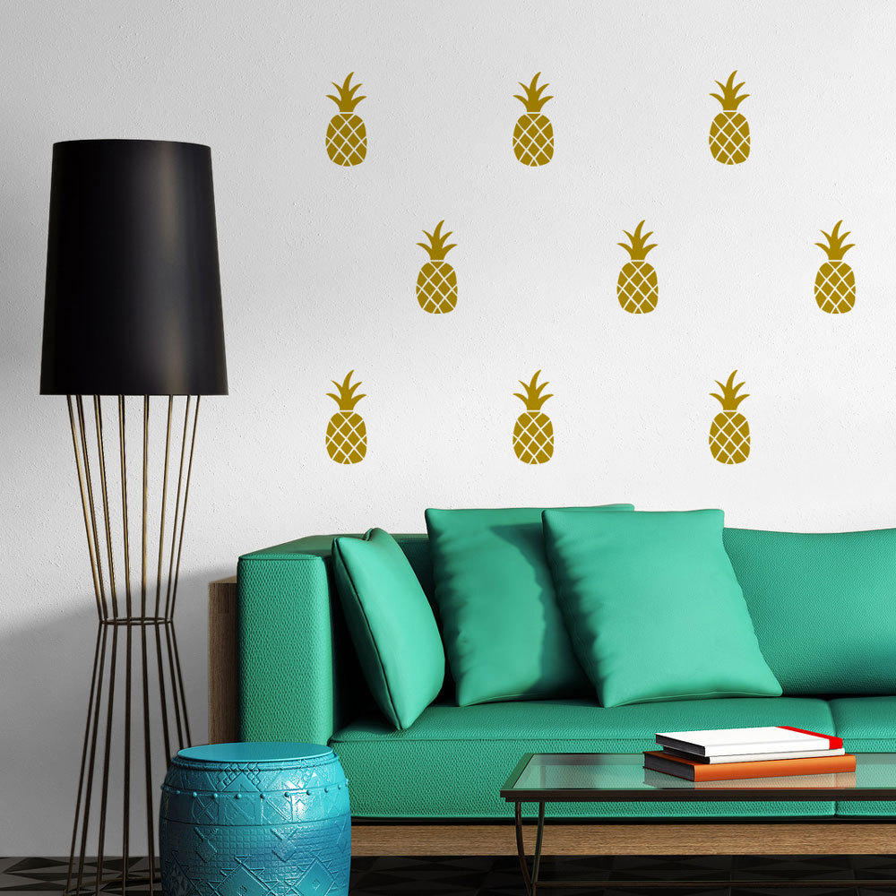 pineapples-wall-decal