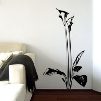 Calla Lily Flower Wall Decal