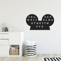 Reusable Chalkboard Mickey Wall Decal