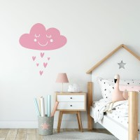 Cloud-Wall-Decal-Pink
