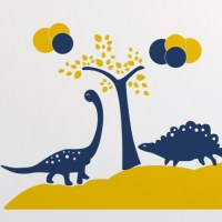 Dinosaurs Wall Decal Detail