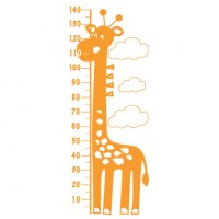 Giraffe Height Chart Comb