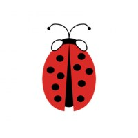 Ladybird Wall Decal