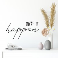 Make it Happen Wall Decal
