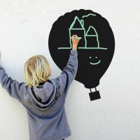 Reusable Chalkboard Balloon Wall Fridge Decal