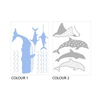 Sea Animals Wall Decal
