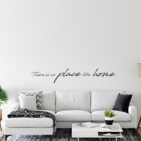 There is no Place like Home Wall Decal