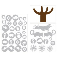Australian Christmas Tree Decal Sheets