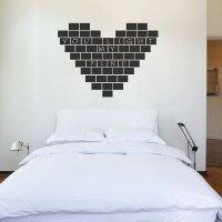 Chalkboard Tiles Wall Decal