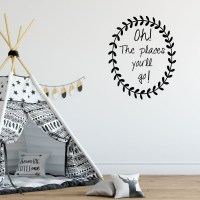 Oh The Places You'll Go Wall Decal