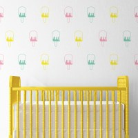 Ice blocks wall decal sheets
