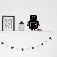 Robot Wall Decal