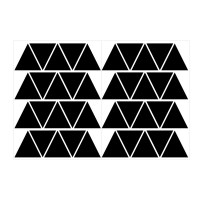 Small Triangles Pattern Wall Decal Sheet