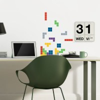Falling Blocks Wall Decals