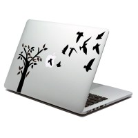 Tree laptop sticker