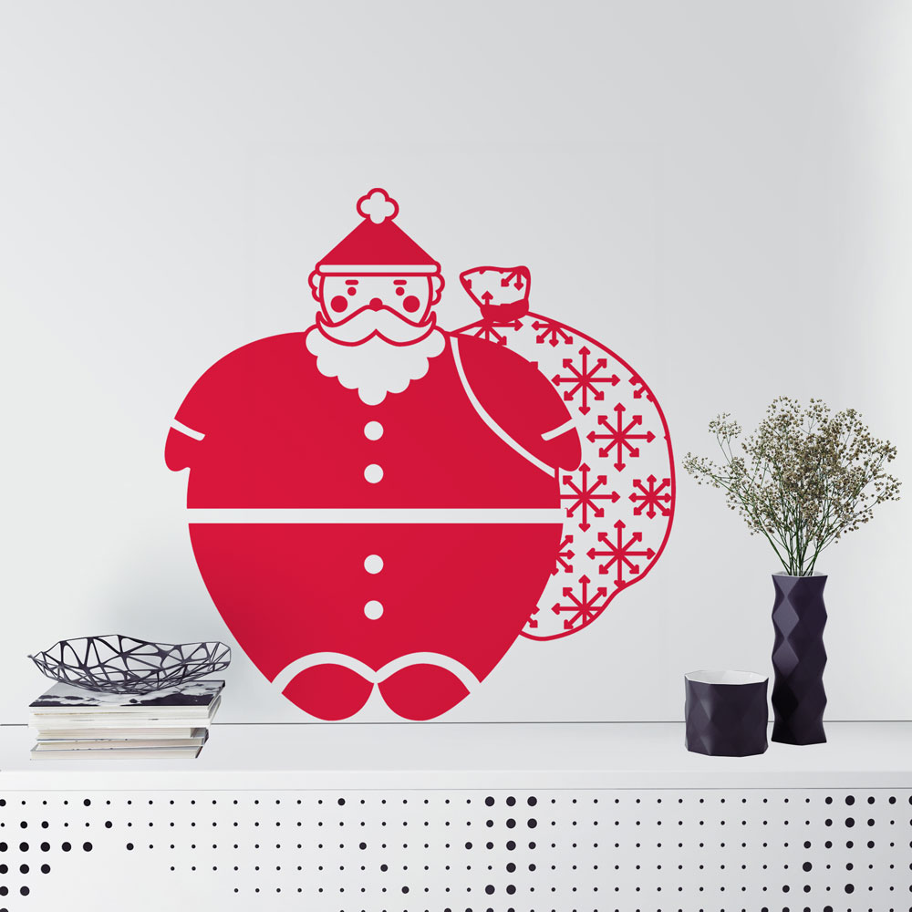 Santa Wall Decal